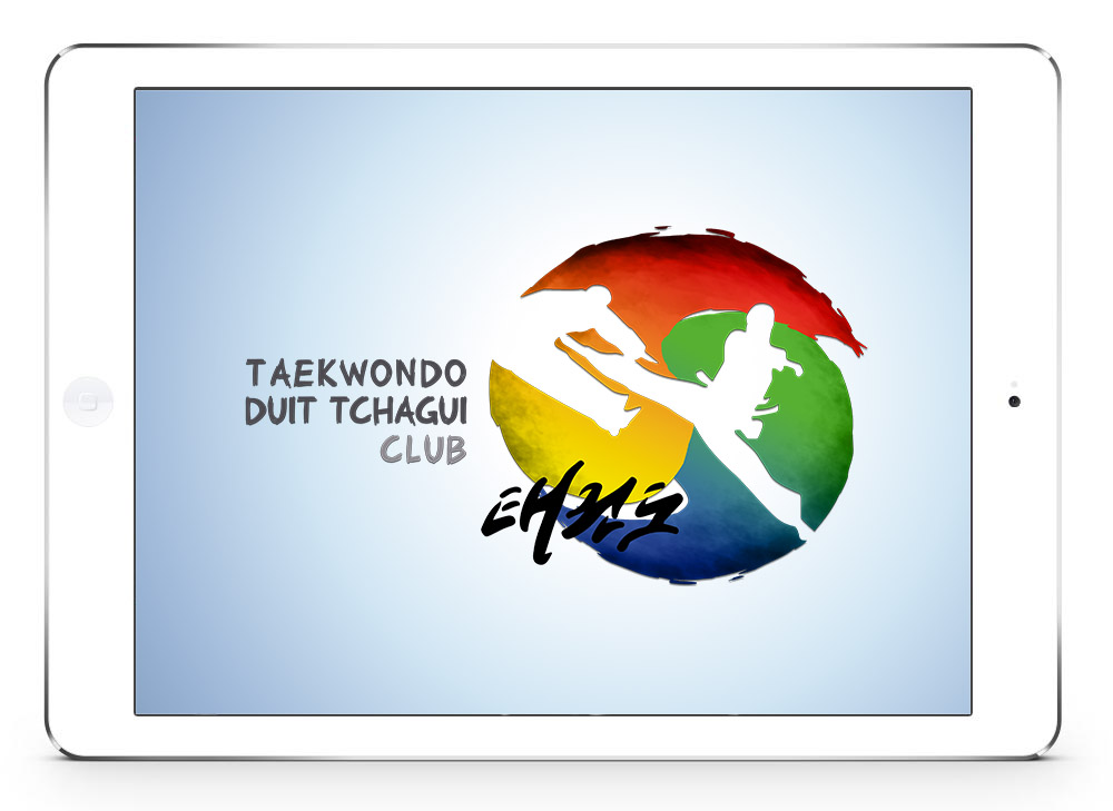 #design htagdesign logo taekwondo graphisme olympic colors