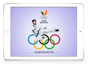 #design htagdesign jaouad achab logo ambassador olympic games JO