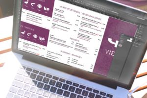 #design htagdesign menus yaki restaurant logo poster
